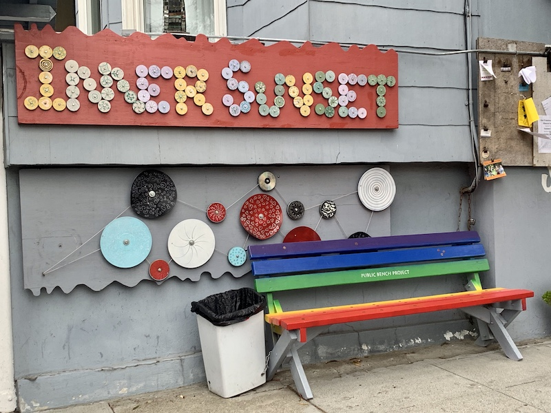 Inner Sunset Bench Project in San Francisco