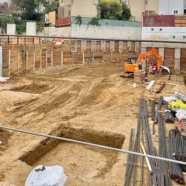 new construction in Castro neighborhood of San Francisco